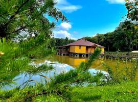 Озеро Желаний, отель в Каменномостском