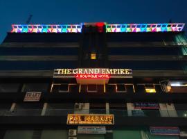 A Boutique Hotel Grand Empire, hotel in Patna