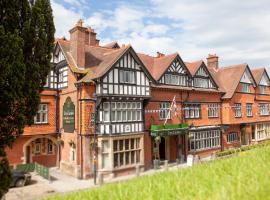 The Crown Manor House Hotel, boutique hotel in Lyndhurst