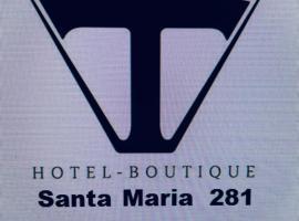 Tremo Santa María 281, hotel near Forestal Park, Santiago
