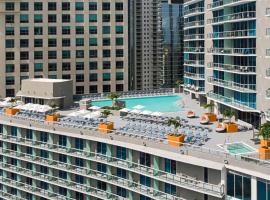 Hyatt Centric Brickell Miami, hotel near University of Miami, Miami