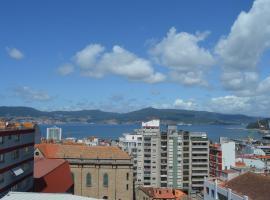Fantástica vista de la Ría de Vigo en pleno centro, apartamento en Vigo