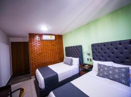 Hotel Jar8 Nuevo enfrente al Acuario de Veracruz, hotel in Veracruz