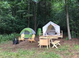Tentrr Signature Site - Dreamroad Farm Pine Tree, luxury tent in Johnstown