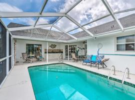 Waterfront Home with Dock, Kayaks, Pool and More!, holiday home in Crystal River