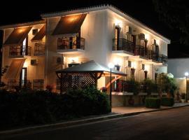 Hotel Aris, hotell i Methone