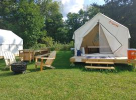 Tentrr State Park Site - NY Canals - Palmyra Macedon Getaway Site B at Lock E 29 - Double Camp, luxury tent in Palmyra