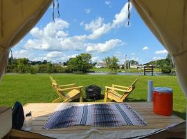 Tentrr State Park Site - NY Canals - Palmyra Macedon Getaway Site C at Lock E 29 - Double Camp, luxury tent in Palmyra