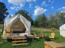 Tentrr State Park Site - NY Canals - Palmyra Macedon Getaway Site A at Lock E 29 - Double Camp, luxury tent in Palmyra