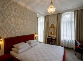 Villa Basileia Riverside, hotel in Karlovy Vary