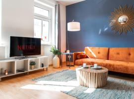 Stilvolles Apartment mit Balkon / Netflix + WIFI & zentrumsnah, Ferienwohnung in Chemnitz