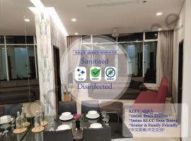 5 STAR & LUXURY Apartment near KLCC/ KL City Centre, apartment in Kuala Lumpur