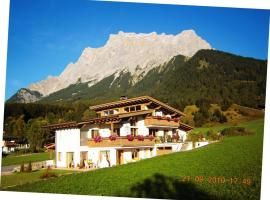Haus Angelika, self catering accommodation in Ehrwald
