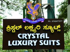 CRYSTAL LUXURY SUITES, luxury hotel in Bangalore