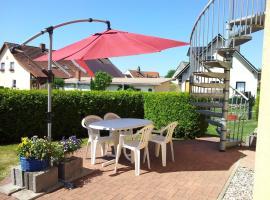 Ferienwohnung für 4 PersRankwitz,Usedom, apartment in Rankwitz