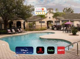 10 mins to Disney - Hot tub - King Purple bed, hotel near Grand Cypress Resort Golf Course, Orlando