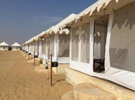Sana Desert Safari Camp Jaisalmer, luxury tent in Jaisalmer