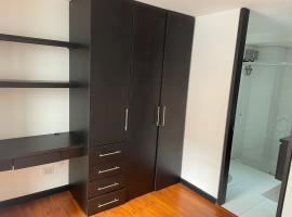 Aparta estudio Chapinero alto, apartamento en Bogotá