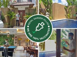 Royal Garden Villas and SPA Bali, villa in Nusa Dua