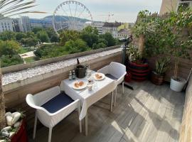 Vista Suites 1-2, apartment in Budapest