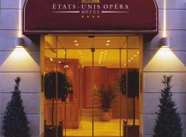 Hotel Etats Unis Opera, hotel in 2nd arr., Paris