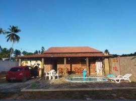 casa de praia em São Miguel dos Milagres, pet-friendly hotel in São Miguel dos Milagres
