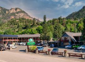 Box Canyon Lodge and Hot Springs, motel in Ouray