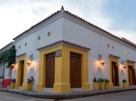 Hotel Boutique Callecitas de Cartagena, hotel in Cartagena de Indias