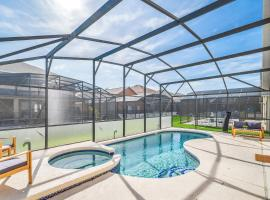 Beautiful 5BR Resort Home - Private Pool, Hot Tub and Games Room!, hotel in Kissimmee