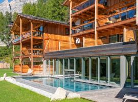 Dolomiti Lodge Alverà, hotel in Cortina d'Ampezzo