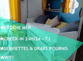 Joli Studio - PROCHE MER - BALCON, apartment in Le Havre