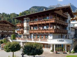 Hotel BLIZZ, Hotel in Finkenberg
