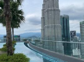 Sky suites KLCC By SK, apartment in Kuala Lumpur