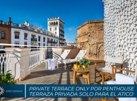 Torre Homenaje Historical Suites, hotel cerca de Plaza de España, Sevilla
