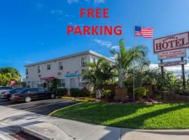 Richard's Hotel, hotel near Seminole Hard Rock Hotel & Casino, Hollywood