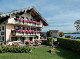 Hotel Garni Möwe am See, Hotel in Prien am Chiemsee
