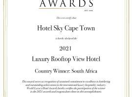 Hotel Sky Cape Town, hotel na Cidade do Cabo