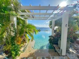 Luxury 7BR waterfront villa with views of Marina Cay and Scrub Island