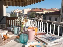 50mt dal mare, apartment in Viareggio