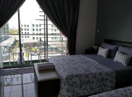 Teratak Impian Studio Room A, Aeropod, budget hotel in Kota Kinabalu