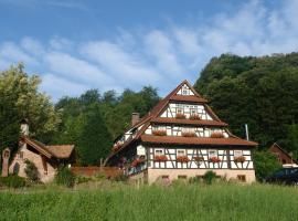 Naturhotel Holzwurm, отель в Засбахвальдене