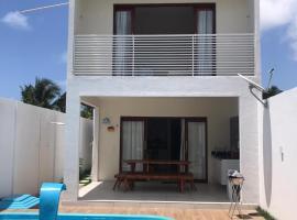 Casa de praia completa em Milagres, pet-friendly hotel in São Miguel dos Milagres