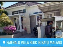 Full House Emerald Villa i6 2 BR Near JTP 3, pet-friendly hotel in Batu