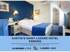 Austin's Saint Lazare Hotel, hotel in Paris