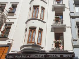 Grand Hotel Palmiye, hotel in Istanbul