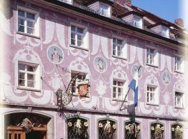 Zur Stadt Mainz, отель в Вюрцбурге