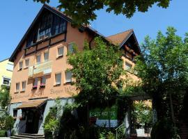 BIO Hotel Bayerischer Wirt Augsburg, hotel in Augsburg