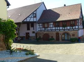 Ferme Martzloff, hotel near Strasbourg International Airport - SXB,