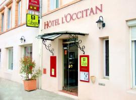 Logis Hotel L'Occitan、ガイヤックのホテル