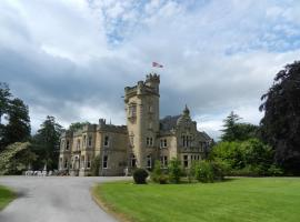 Mansfield Castle Hotel, country house in Tain